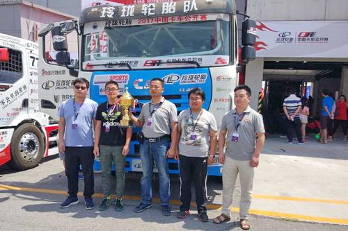 玉柴YC6K在卡车公开赛(北京站)上大秀实力